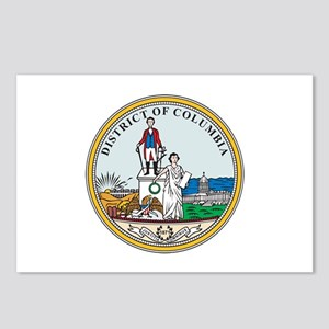 DISTRICT-OF-COLUMBIA-SEAL Postcards (Package of 8)