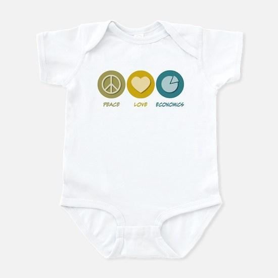 Peace Love Economics Infant Bodysuit