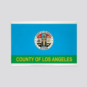 LOS-ANGELES-COUNTY Rectangle Magnet