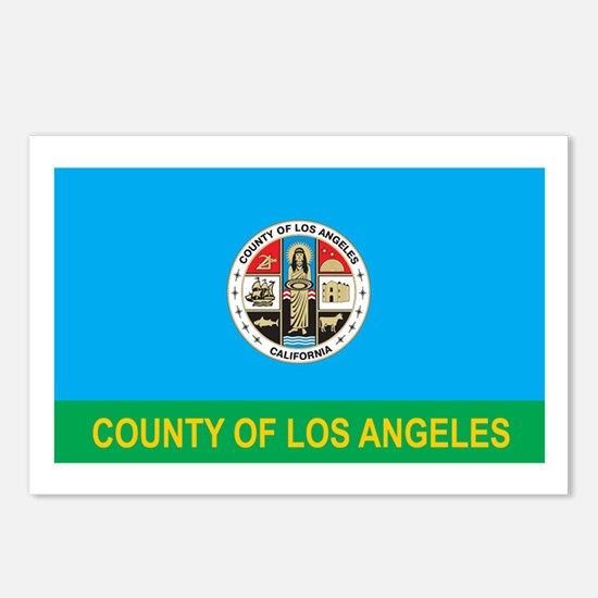 LOS-ANGELES-COUNTY Postcards (Package of 8)