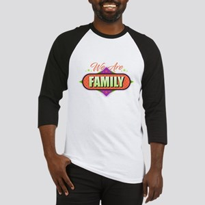 We Are Family Baseball Jersey