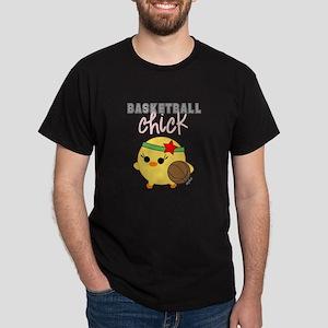 Basketball Chick Dark T-Shirt