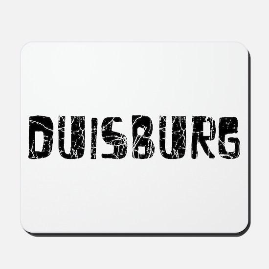 Duisburg Faded (Black) Mousepad