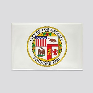 LOS-ANGELES-CITY-SEAL Rectangle Magnet