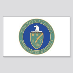 ENERGY-DEPARTMENT-SEAL Rectangle Sticker