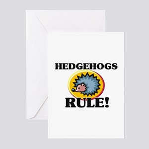 Hedgehogs Rule! Greeting Cards (Pk of 10)