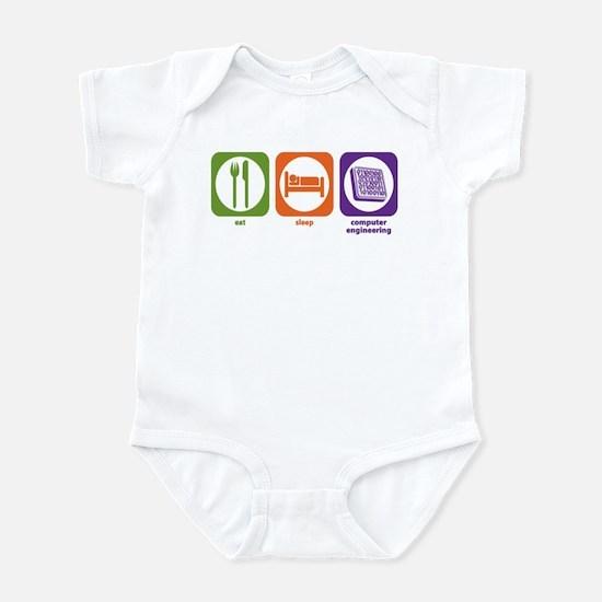Eat Sleep Computer Engineering Infant Bodysuit