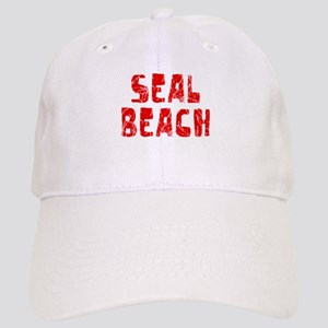 Seal Beach Faded (Red) Cap