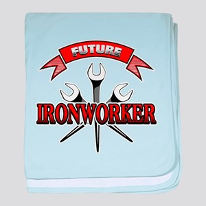 Future Ironworker baby blanket
