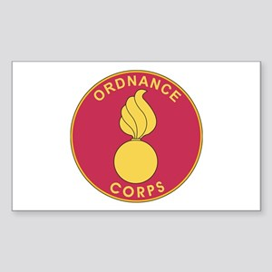 ORDNANCE-CORPS Rectangle Sticker