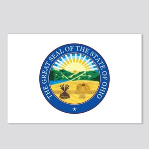 OHIO-SEAL Postcards (Package of 8)