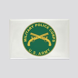 MILITARY-POLICE Rectangle Magnet