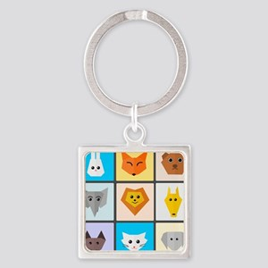 Animal Bingo Keychains