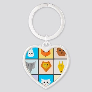 Animal Bingo Keychains
