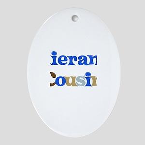 Kieran's Cousin Oval Ornament