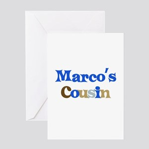 Marco's Cousin Greeting Card