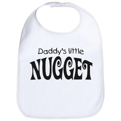 'Daddy's Little Nugget' Bib
