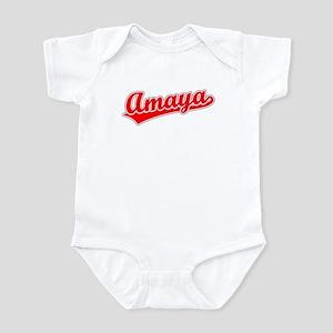Retro Amaya (Red) Infant Bodysuit