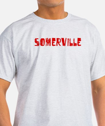 Somerville Faded (Red) T-Shirt