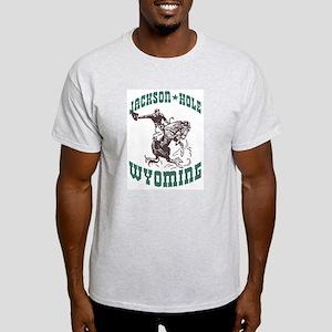 Jackson Hole Wyoming Ash Grey T-Shirt