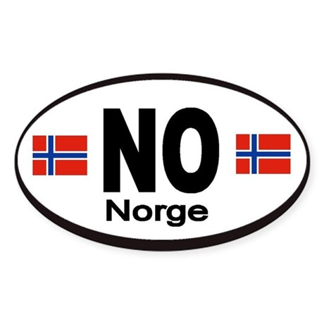 Norway Norge Automobile Identification Sticker
