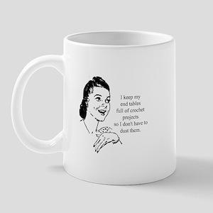 Crochet - Don't Dust Mug