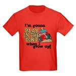 Play In The Dirt Kids Dark T-Shirt
