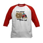 Play In The Dirt Kids Baseball Jersey