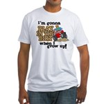 Play In The Dirt Fitted T-Shirt