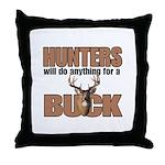 Hunters/Buck Throw Pillow