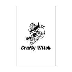 Crafty Witch Posters