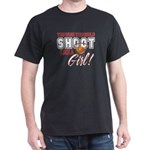 Basketball - Shoot Like a Girl Dark T-Shirt