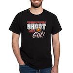 Basketball - Shoot Like a Girl Dark T-Shirt