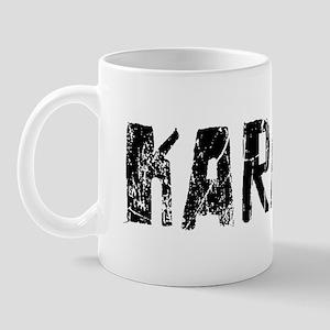 Karachi Faded (Black) Mug