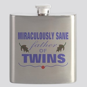 Funny father of twins Flask