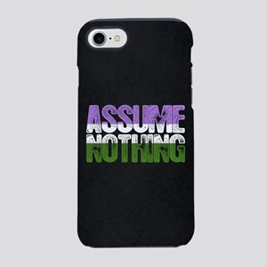 Assume Nothing Genderqueer P iPhone 8/7 Tough Case