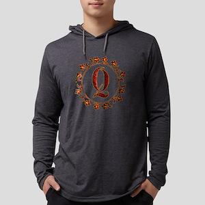 Letter Q Monogram Long Sleeve T-Shirt