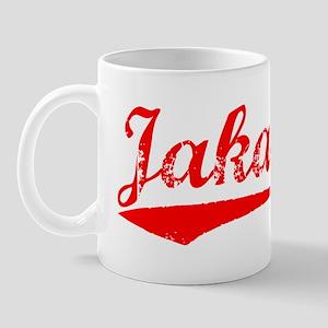 Vintage Jakarta (Red) Mug