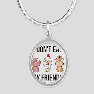I Don't Eat My Friends - Vegan / Veg Necklaces