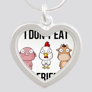 I Don't Eat My Friends - Vegan / Veg Necklaces