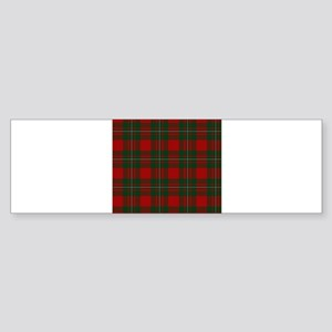Scottish Clan MacGregor Tartan Bumper Sticker