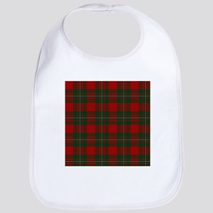 Scottish Clan MacGregor Tartan Baby Bib