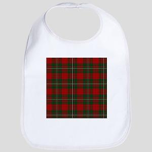 Scottish Clan MacGregor Tartan Baby Bib