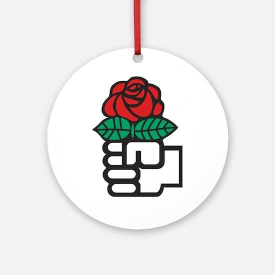 Socialism Round Ornament