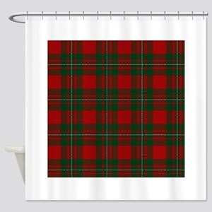 Scottish Clan MacGregor Tartan Shower Curtain