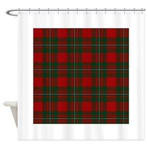 Scottish Tartan Shower Curtains