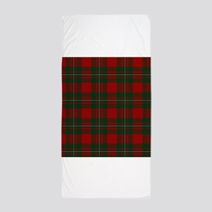 Scottish Clan MacGregor Tartan Beach Towel