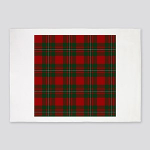 Scottish Clan MacGregor Tartan 5'x7'Area Rug