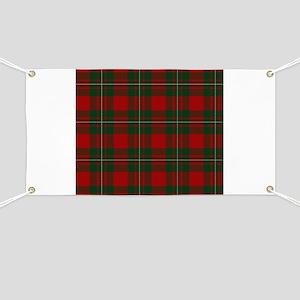 Scottish Clan MacGregor Tartan Banner