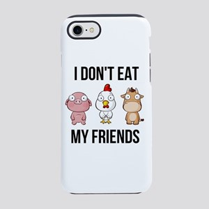 I Don't Eat My Friends - iPhone 8/7 Tough Case